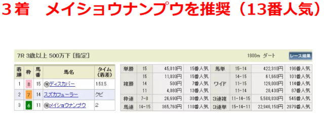 ディーランサー・複勝4080円.PNG